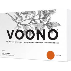 VOONO Henna premium - duże opakowanie - Copper - Naturalna, 500 g