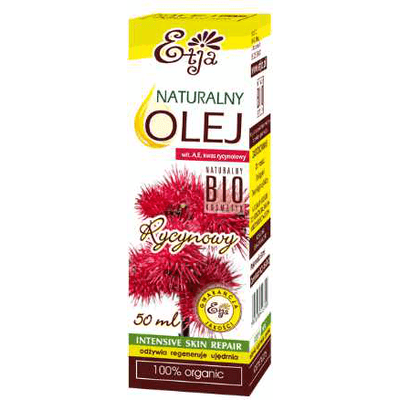 Naturalny olej rycynowy BIO Etja