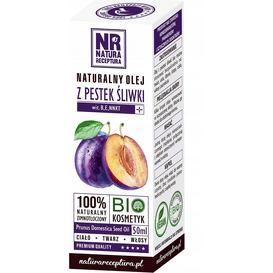 Natura Receptura Naturalny olej z pestek śliwki, 50 ml