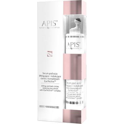 Serum pod oczy liftingujące i redukujące cienie w formie roll on APIS