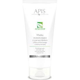APIS Oczyszczająca maska z czarnym błotem z Morza Martwego i zieloną herbatą - Acne-stop, 200 ml