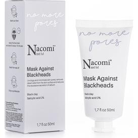 Nacomi Next level - Maseczka przeciw zaskórnikom - No More Pores, 50 ml