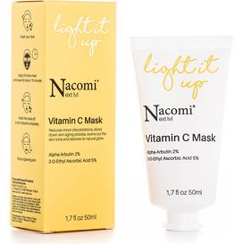 Nacomi Next level - Rozjaśniająca maseczka z witaminą C, 50 ml