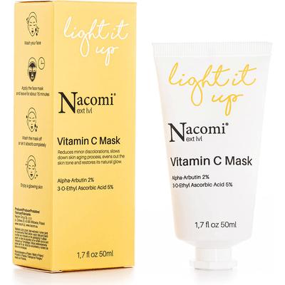 Next level - Rozjaśniająca maseczka z witaminą C Nacomi