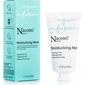 Nacomi Next level - Maseczka nawilżająca z 4 formami kwasu hialuronowego, 50 ml