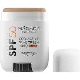 Madara Mineralny krem z filtrem w sztyfcie SPF50 Pro-Active, 18 g