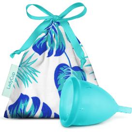 Lady Cup Kubeczek menstruacyjny - Moonstone Blue