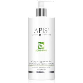 APIS Oczyszczające Mleczko z Zieloną Herbatą - Ance-stop, 500 ml