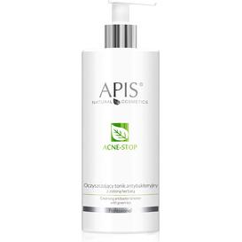 APIS Oczyszczający tonik antybakteryjny z zieloną herbatą - Acne-stop, 500 ml