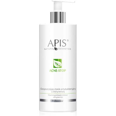 Oczyszczający tonik antybakteryjny z zieloną herbatą - Acne-stop APIS