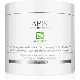 APIS Maska algowa dla cery trądzikowej z bambusem - Acne-stop, 200 g