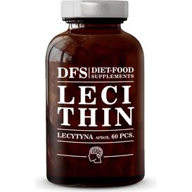 Diet Food Lecytyna 1200 mg - Kapsułki, 60 szt.