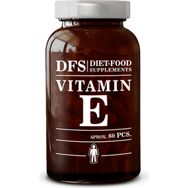 Diet Food Witamina E 500 mg - Kapsułki, 60 szt.