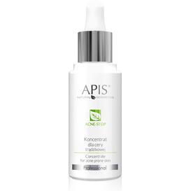 APIS Koncentrat dla cery trądzikowej - Acne-stop, 30 ml