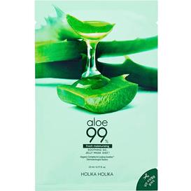 Holika Holika Aloesowa maseczka do twarzy w płachcie - Aloe 99% Soothing Gel Gelee, 23 ml