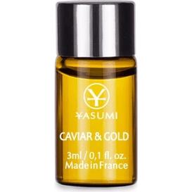Yasumi Caviar & Gold - Ampułka z kawiorem i złotem, 3 ml