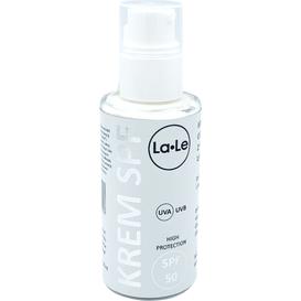 La-Le Kosmetyki Krem ochronny z filtrem mineralnym UVA/UVB - SPF 50 - róża-malina, 50 ml