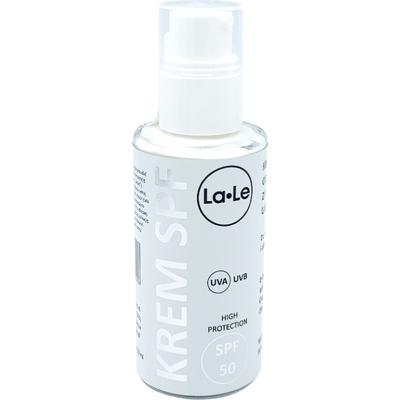 Krem ochronny z filtrem mineralnym UVA/UVB - SPF 50 - róża-malina La-Le Kosmetyki