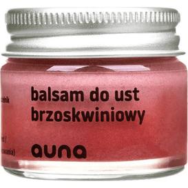 Auna Balsam do ust - Brzoskwiniowy (data ważności: 31.01.2022), 15 g