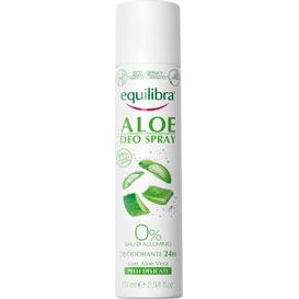 Equilibra Aloesowy dezodorant w sprayu, 75 ml