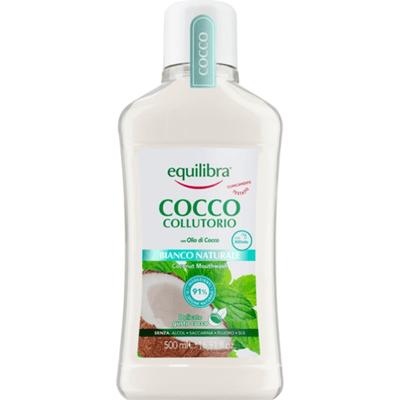Kokosowy płyn do płukania jamy ustnej - Naturalna Biel Equilibra