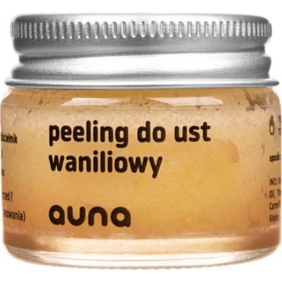 Waniliowy peeling do ust Auna