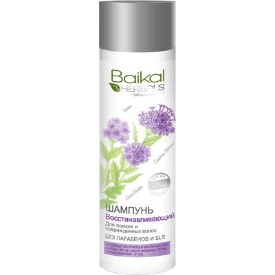 Szampon do włosów suchych i zniszczonych - Regeneracja Baikal Herbals