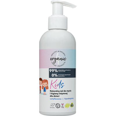 Active Organic - Naturalny żel do mycia i higieny intymnej dla dzieci - Kids 4organic