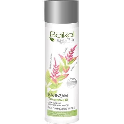 Balsam do włosów włosów suchych i farbowanych - Odżywienie Baikal Herbals