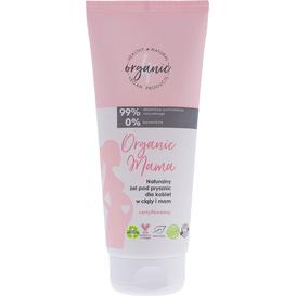 4organic Organic Mama - Naturalny żel pod prysznic dla kobiet w ciąży i mam, 200 ml