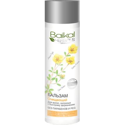 Balsam do włosów przetłuszczających się - Oczyszczenie Baikal Herbals