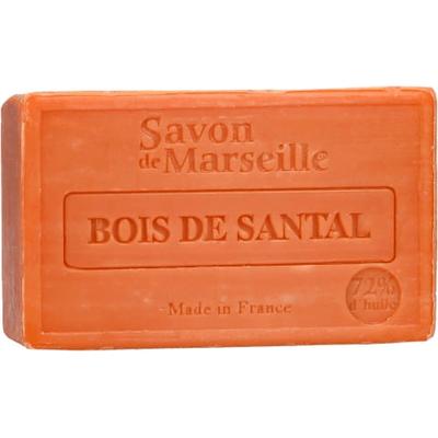 Mydło marsylskie z olejem ze słodkich migdałów - Drzewo sandałowe Le Chatelard