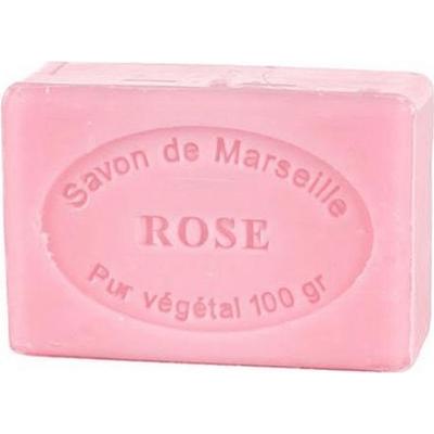 Mydło marsylskie z olejem ze słodkich migdałów - Róża Le Chatelard