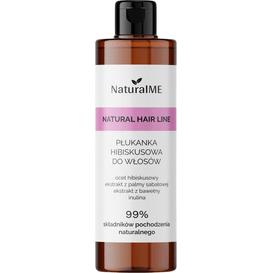 NaturalMe Płukanka do włosów z octem hibiskusowym - przeciwłupieżowa, 250 ml