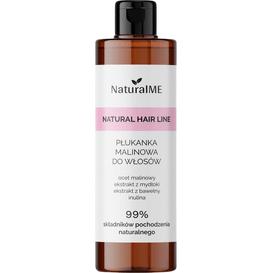 NaturalMe Płukanka do włosów tłustych z octem malinowym, 250 ml