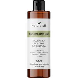 NaturalMe Płukanka do włosów z octem ziołowym - przeciwzapalna, 250 ml