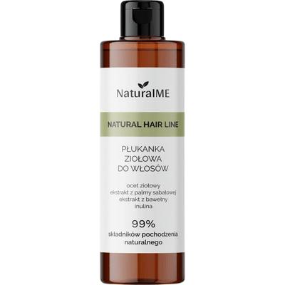 Płukanka do włosów z octem ziołowym - przeciwzapalna NaturalMe