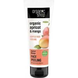 Organic Shop Delikatny peeling do twarzy - Morela i mango, 75 ml