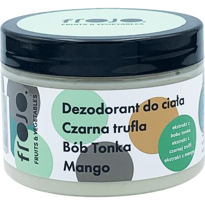 Dezodorant bób tonka-czarna trufla-mango Frojo