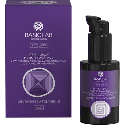 Stymulujący peeling kwasowy - ujędrnienie i wygładzenie BasicLab