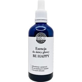 BIOUP Esencja do skóry głowy BE HAPPY odżywienie i witalność dla mocnych włosów, 100 ml