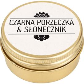 Czarna porzeczka & Słonecznik Masełko do ust, 15 ml