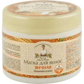 Receptury Agafii Jajeczna maska do włosów, 300 ml