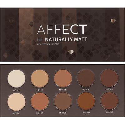 Paleta cieni prasowanych - Naturally Matt AFFECT