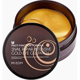 Mizon Snail Repair Intensive Gold Eye Gel Pack - Hydrożelowe płatki pod oczy ze śluzem ślimaka, 60 szt.
