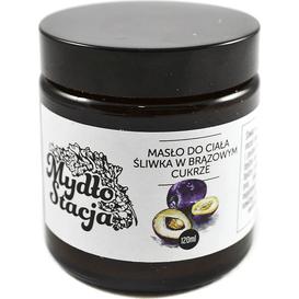Mydłostacja Masło do ciała - Śliwka w brązowym cukrze, 120 ml