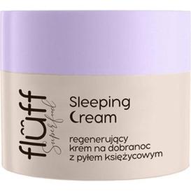 Fluff Krem do twarzy na noc - Sleeping Cream, 50 ml