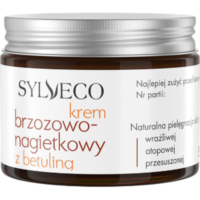 Krem brzozowo-nagietkowy z betuliną Sylveco