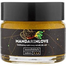 Manufaktura Natura Scrub do ust mandarynkowy, 15 ml
