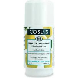 Coslys Ałunowy dezodorant roll on - Cytrusowy ogród